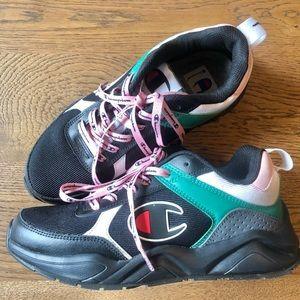 Champion colour block sneakers